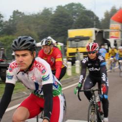 Jean-Claude qui finira 6° de sa catégorie